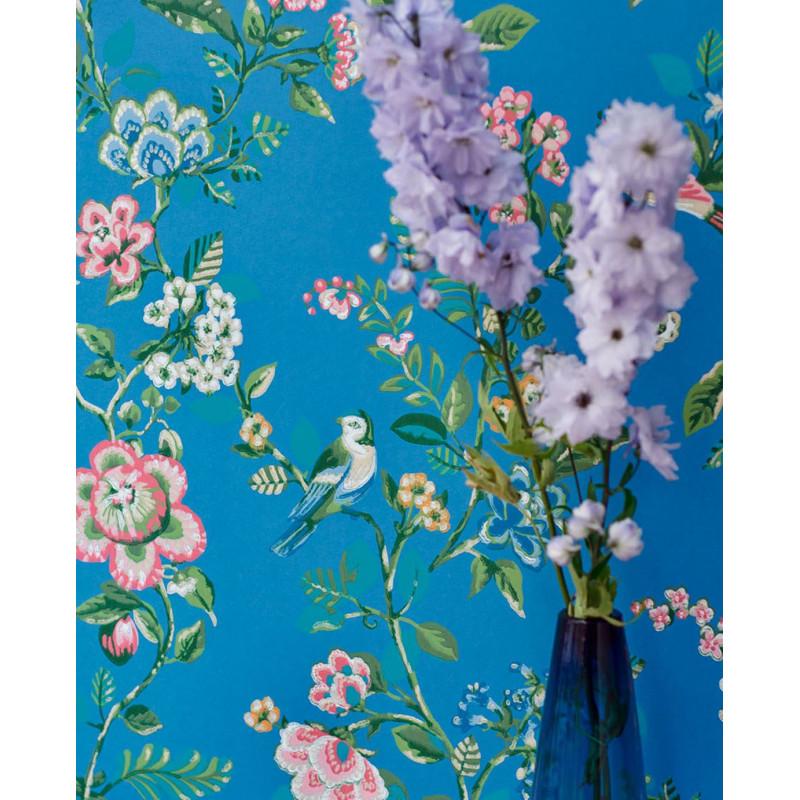 papier peint pip studio 4 botanical print de eijffinger atelier du passage. Black Bedroom Furniture Sets. Home Design Ideas