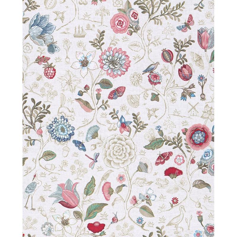 papier peint pip studio 4 spring to life couleur de eijffinger atelier du passage. Black Bedroom Furniture Sets. Home Design Ideas