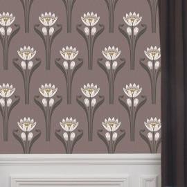 Papier peint Tulipes Isidore Leroy