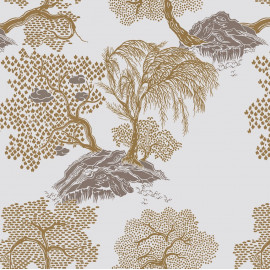 Papier peint Jardin d'Asie Isidore Leroy