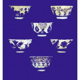 Panoramique Le bleu thé de Elitis