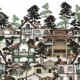 Papier peint Première ligne Isidore Leroy