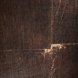 Papier Peint PROFUMO D\'ORO marron foncé ELITIS - Atelier du passage