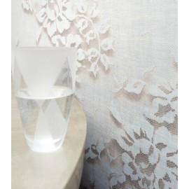 Papier Peint PALAZZO Blanc ELITIS