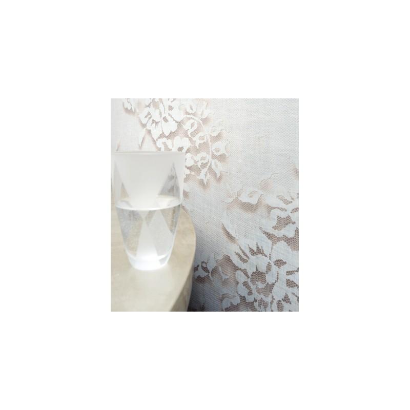 Papier peint palazzo blanc elitis atelier du passage - Papier elitis ...