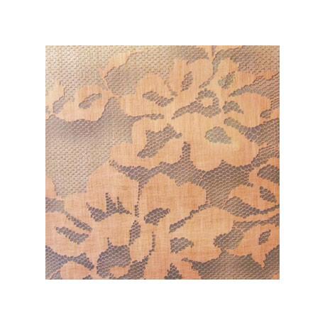 Papier Peint PALAZZO Bleu/crème ELITIS