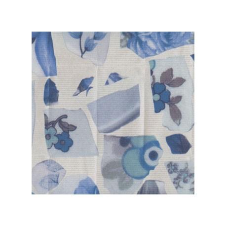 Papier Peint PORTOBELLO Bleu ELITIS