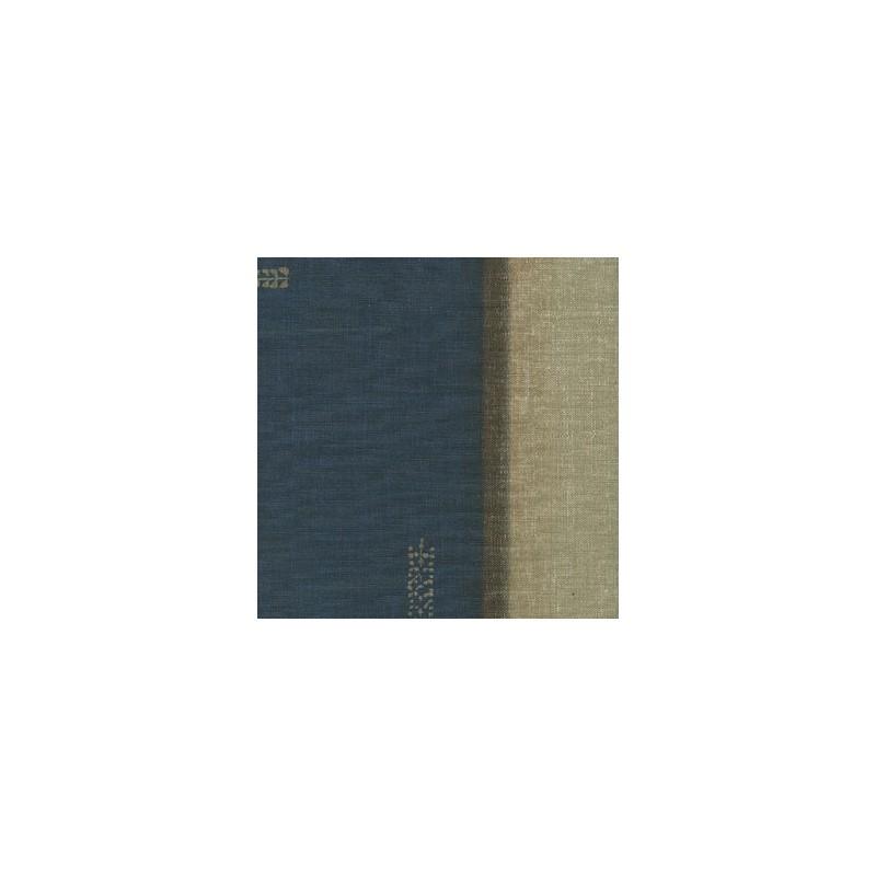 papier peint musc bleu fonc elitis atelier du passage. Black Bedroom Furniture Sets. Home Design Ideas