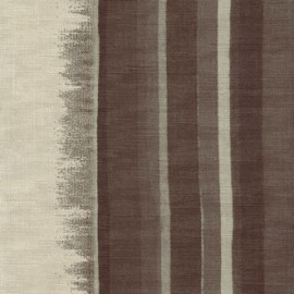 Papier Peint POMANDER Marron/gris ELITIS