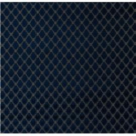 Tissu NIMES Bleu nuit CHRISTIAN LACROIX