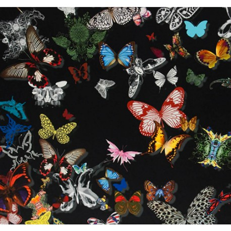 tissu BUTTERFLY PARADE Oscuro CHRISTIAN LACROIX