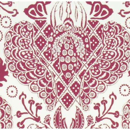 Papier Peint MARSEILLE Grenat CHRISTIAN LACROIX