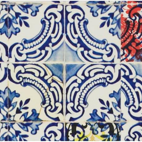 Papier Peint PATIO Cobalt CHRISTIAN LACROIX