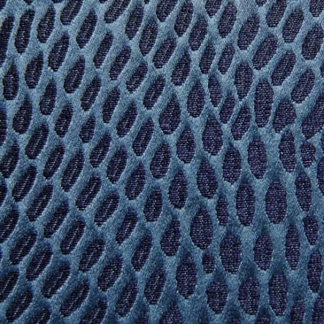 Tissu Kooris marine ardoise CREATIONS METAPHORES