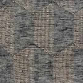 Tissu Duo granite METAPHORES