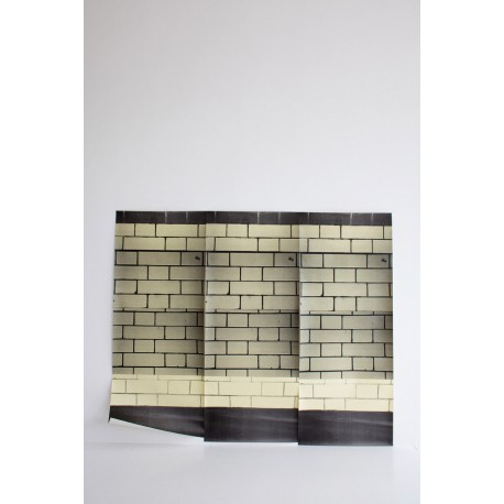 Papier Peint Tube Station Tile DEBORAH BOWNESS