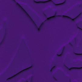 Papier Peint L'ORIGINAL Loop Violet ELITIS
