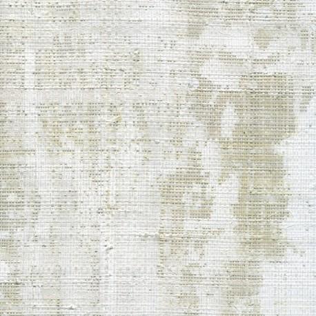 Papier Peint ROBINSON Rafia Blanc ELITIS