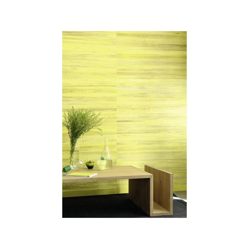 papier peint robinson abaca jaune elitis atelier du passage. Black Bedroom Furniture Sets. Home Design Ideas