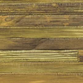 Papier Peint ROBINSON Abaca Nylon doré ELITIS