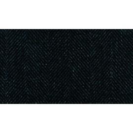 Tissu Savile Row Noir CREATIONS METAPHORES
