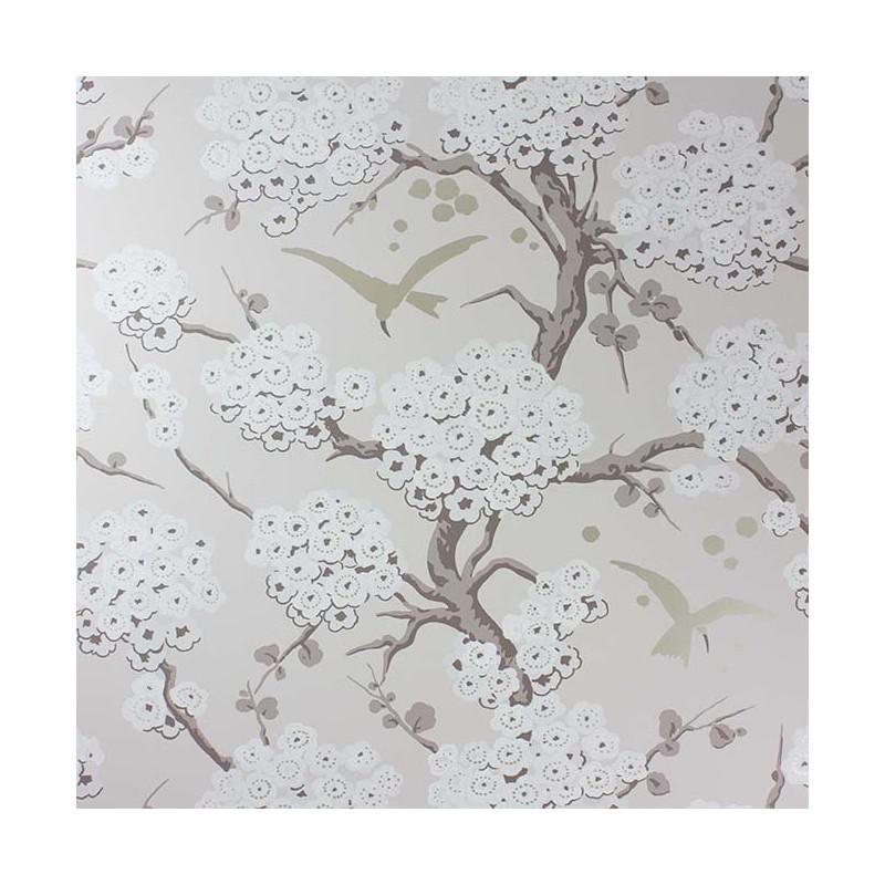 Papier peint japonerie naturel osborne little atelier du passage - Papier peint naturel ...