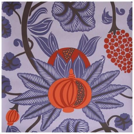 Papier Peint MAHARANI Violet