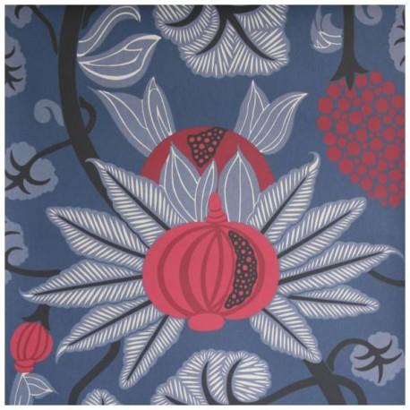 Papier Peint MAHARANI Bleu