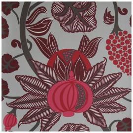 Papier Peint MAHARANI Rouge OSBORNE & LITTLE