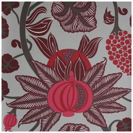 Papier Peint MAHARANI Rouge