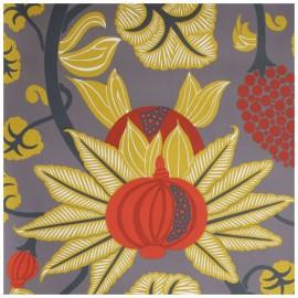 Papier Peint MAHARANI Jaune OSBORNE & LITTLE
