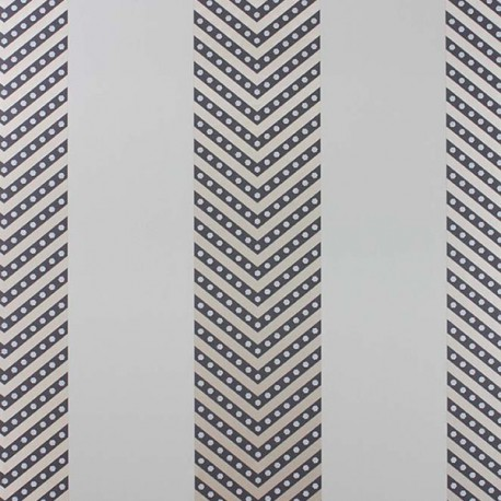 Papier Peint NEVIS Noir / Or / Beige