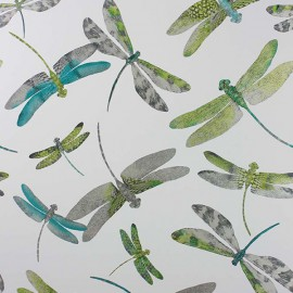 Papier Peint DRAGONFLY DANCE Kiwi MATTHEW WILLIAMSON