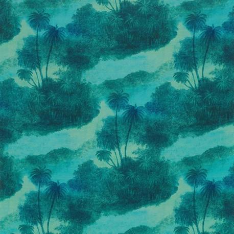 Tissu COCOS Jade de Matthew Wiliamson