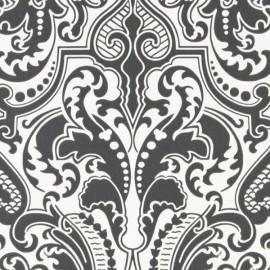 Papier Peint GWYNNE DAMASK Charcoal RALF LAUREN