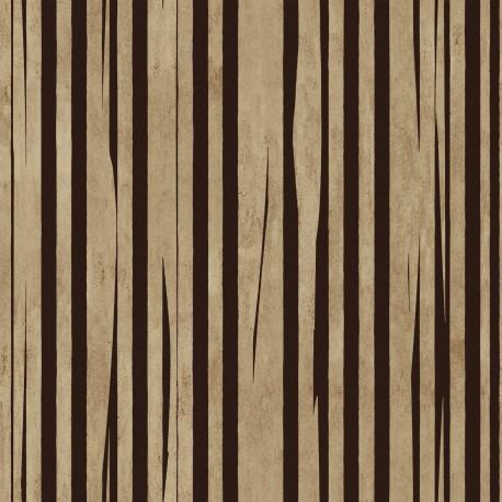Papier peint FANDANGO brun ELITIS