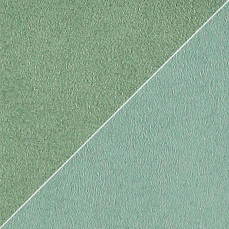 Tissu VERT DE GRIS Moleskine