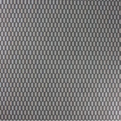 Papier Peint Honeycomb noir OSBORNE & LITTLE