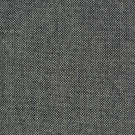 Tissu Kvadrat Hallingdal 65 anthracite et blanc