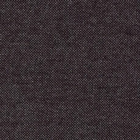 Tissu Kvadrat Hallingdal 65 noir chiné