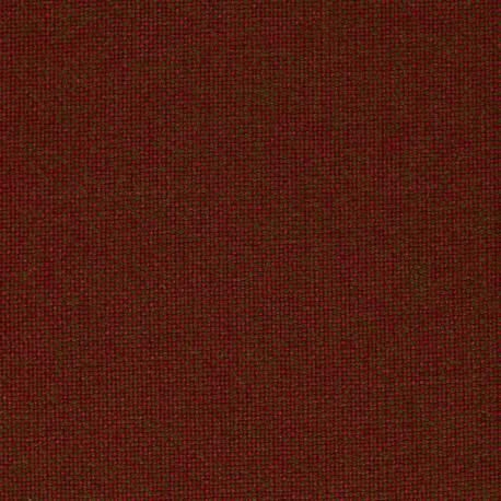 Tissu Kvadrat Hallingdal 65 rouge et vert