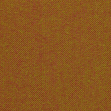 Tissu Kvadrat Hallingdal 65 naturel et orange