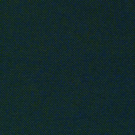 Tissu Kvadrat Hallingdal 65 cerule bicolore