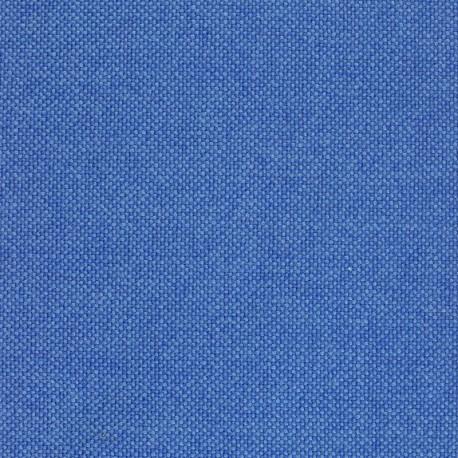 Tissu Kvadrat Hallingdal 65 bleu bicolore