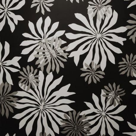 papier peint fleur miss print atelier du passage. Black Bedroom Furniture Sets. Home Design Ideas