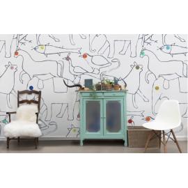 papier peint collection ambiance scandinave atelier du passage atelier du passage. Black Bedroom Furniture Sets. Home Design Ideas