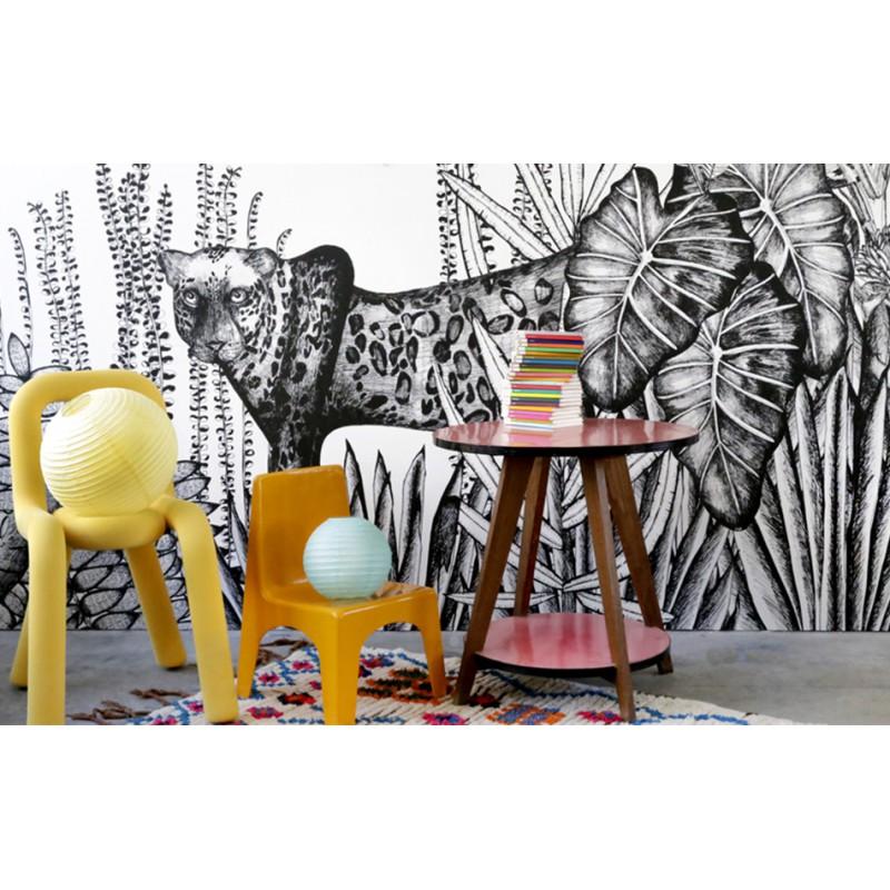 papier peint the wild bien fait atelier du passage. Black Bedroom Furniture Sets. Home Design Ideas