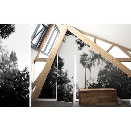 papier peint palermo noir bien fait atelier du passage. Black Bedroom Furniture Sets. Home Design Ideas