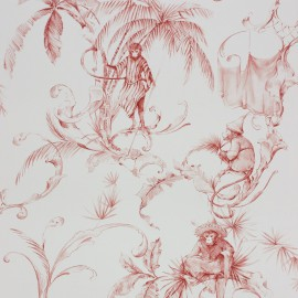 Papier Peint Barbary Toile Nina Campbell