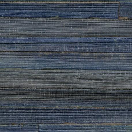 Papier Peint ROBINSON Abaca Nylon Bleu ELITIS